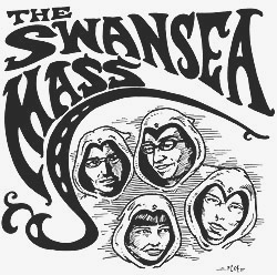 [image: cover of the Swansea Mass seven-inch, Silver Venus b/w Chessy]